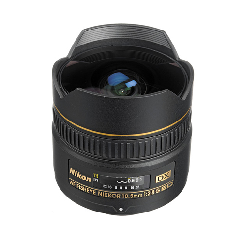 AF DX Fisheye Nikkor 10-5mm f2-8G ED