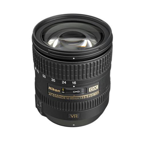 AF-S DX Nikkor 16-85mm f:3.5-5.6G ED VR