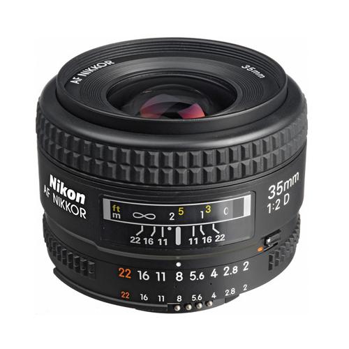 Nikon AF Nikkor 35mm f:2D