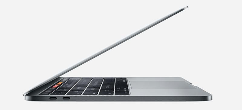 thiết kế macbook pro 2017