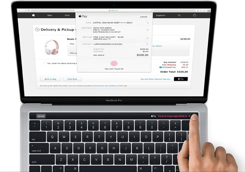 Touch ID macbook pro 2017