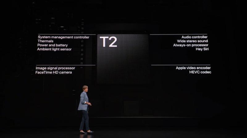 apple t2 macbook pro 2018