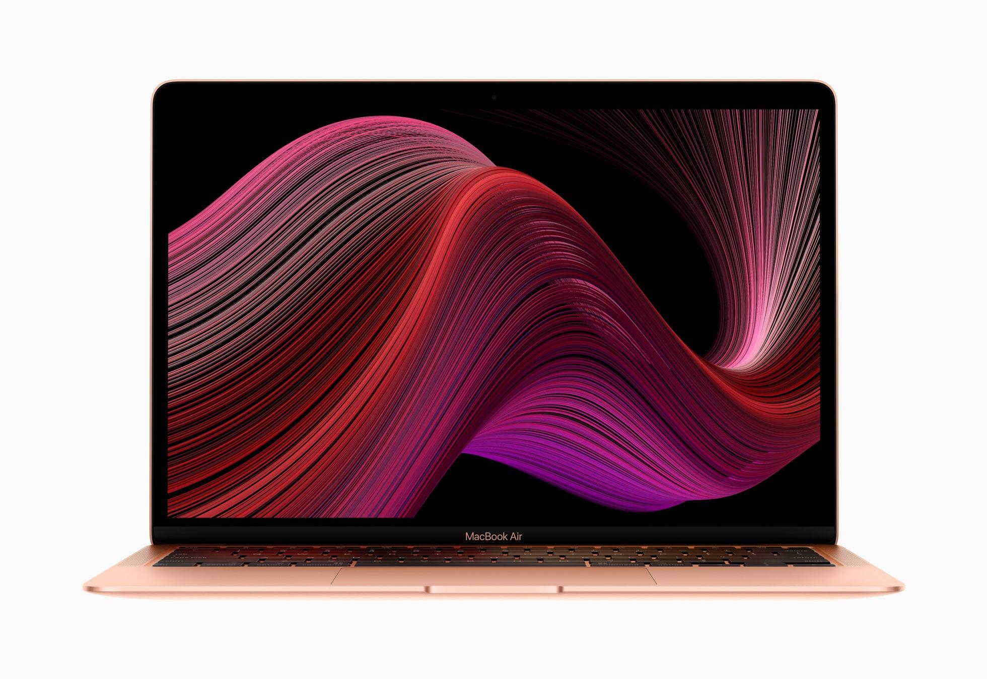 thiết kế macbook air 2020