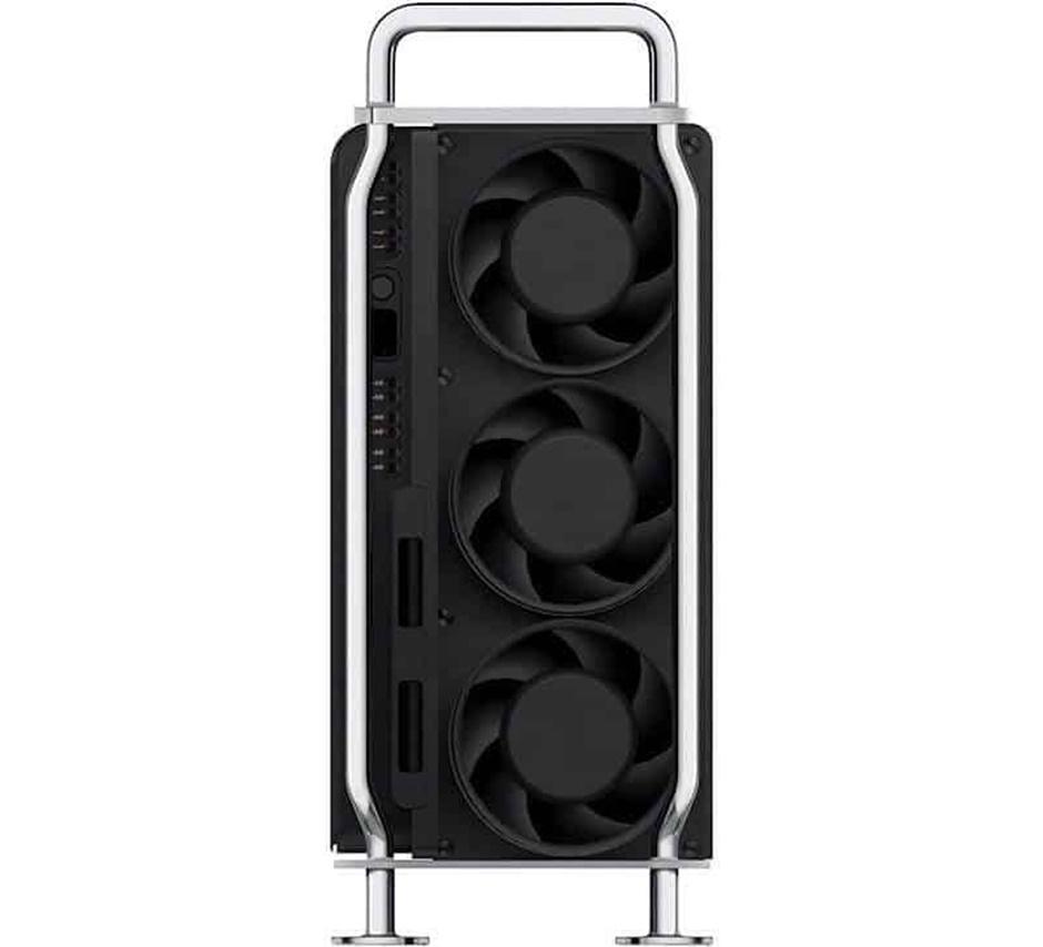 Hệ thống gồm 3 cánh quạt dọc theo thân để giúp CPU và GPU giảm nhiệt độ xuống đến mức tối thiểu