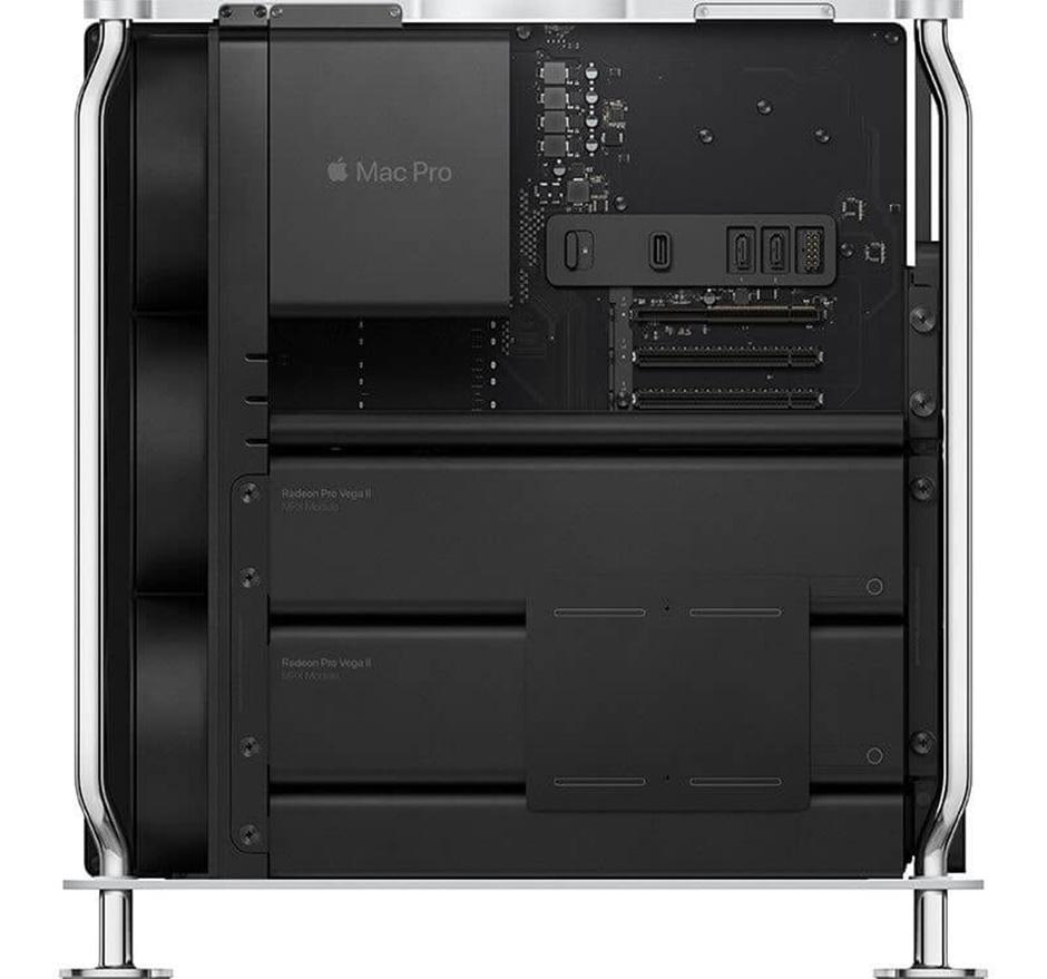 """Mac Pro Tower 2019 thực sự là một """"con quái vật"""" khi sở hữu cấu hình cực khủng với hàng loạt linh kiện mạnh mẽ nhất"""