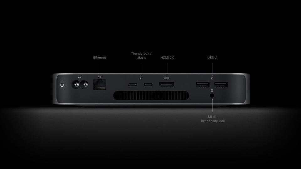 cổng kết nối HDMI 2.0 trên mac mini m1