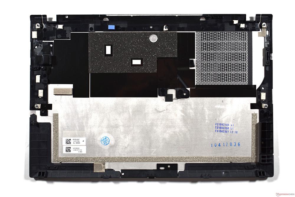 Lenovo ThinkPad T14s G2: Aluminum bottom plate